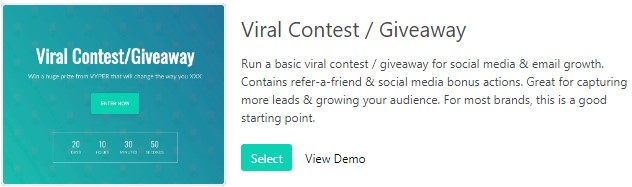 viral contest